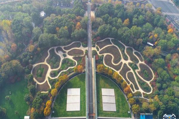 紫荆公园是常州市最大的月季主题公园.